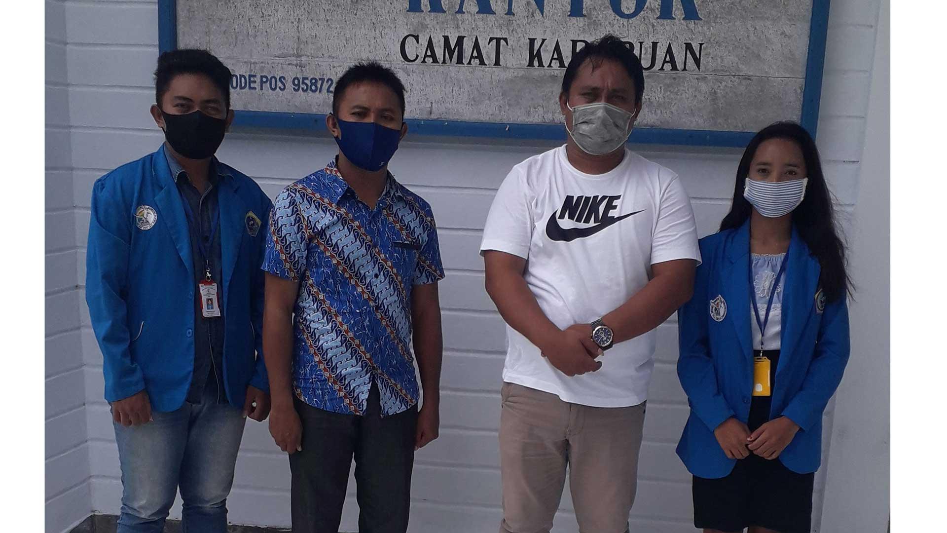 Penerimaan Mahasiswa PKL dari STIK R CCT Talaud